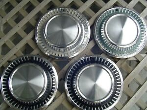 Vintage 1963 63 Chrysler New Yorker Fifth Ave Hubcaps Wheel Cover Dodge Plymouth