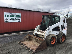 2007 Bobcat S175 Skid Steer Loader W Cab One Owner Only 1400 Hours