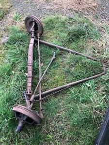 Complete 1932 Ford Front End Heavy Axle Hot Rod Trog Hamb Rat Rod