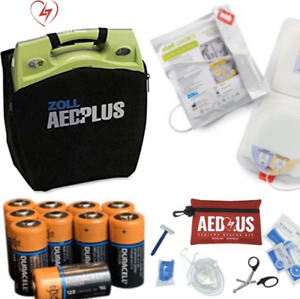 Zoll Aed Plus With New Stat Padz Ii Biomed Recertified Excellent Condition
