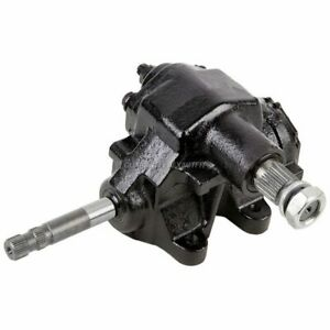 Manual Steering Gear Box Gearbox For Chevy Gmc Olds Buick Amc Jeep Xj Yj Tj Sj