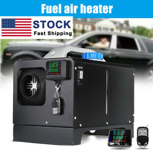 All In One 12v 8kw Diesels Air Heater Car Parking Heater Low Noise For Car Truck