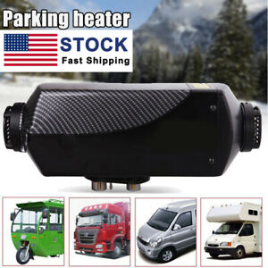 12v 8kw Metal Diesel Air Heater Lcd Thermostat For Truck Car Boat Trailer Rvs