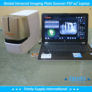 Fussen Dental Intraoral Imaging Plate Scanner Psp With Hp Laptop New