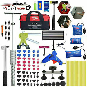 100pcs Pdr Tools Dent Hammer Puller Lifter Paintless Hai Ding Removal Repair Kit