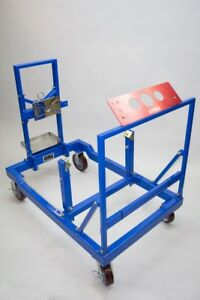 Prw Steel Fully Collapsible Engine Test Stand Base Unit W Short Block Adapter