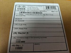 Lot 10 Cisco Cp lckngwallmount Locking Wall Mount Kit Ip Phone 7910 7940 7960