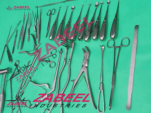 Laminectomy Surgical Set Of 34 Pcs Surgical Orthopedic Surgical Instruments