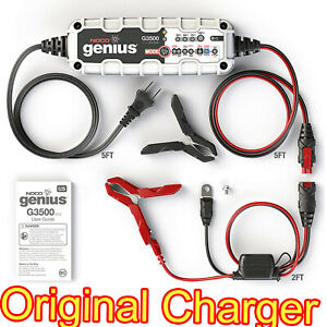 Noco Genius G3500 6 Volts And 12 Volts 3 5 Ampere Battery Charger Maintainer