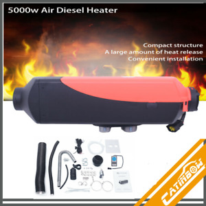 12v 5kw Diesel Fuel Air Heater Heating digital Switch For Car Truck Motor Boat