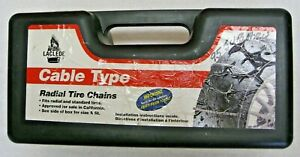 Laclede Cable Type Radial Tire Chains New Other