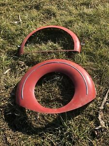 1940 1958 Chevrolet Packard Lincoln Continental Kit Ring Cadillac Face 1965 Tire