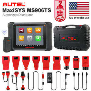 Autel Maxisys Ms906ts Bluetooth Diagnostic Auto Scan Ecu Reset Tpms Program Tool