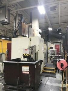 63 Giddings Lewis Vtc 1600 Cnc Vertical Boring Mill With Fanuc Cnc Control