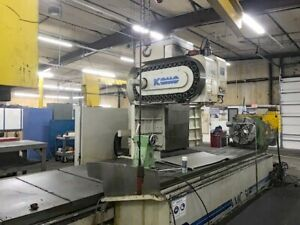 Komo Vmc 160 50 Cnc Vertical Machining Center With Large Rotary Table And Fanuc