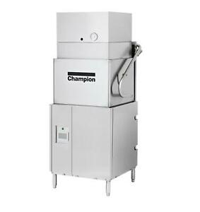 Champion Dh 6000 vhr Door Type High Temperature Ventless Commercial Dishwasher