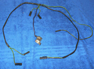 1967 Mustang Fastback Convert Gt Shelby Cougar Xr7 Orig Dash A C Wiring Harness