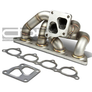 Fit 05 06 Mit Evo 7 8 9 4g93t Td05 Cast Stainless Steel Turbo Manifold Exhaust