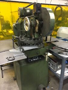 Di Acro 18 Turret Punch Diacro With Tooling 3 Phase Electrical Powered