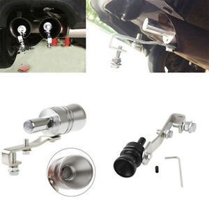 Universal Turbo Sound Noise Exhaust Muffler Pipe Whistle Off Valve Bov Simulator