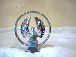 Vintage Chrysler Imperial Hood Emblem Badge Chrome Metal 2445063