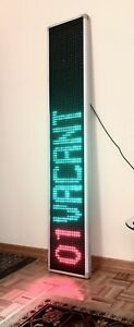 Led Display Sign 81x15 Multicolor With Remote Control