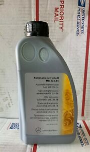 Mercedes Atf 134 236 14 Automatic Transmission Fluid Genuine 6 Liters Included