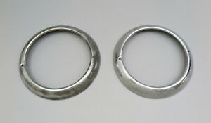 1940s 1950s Ford Chevy Plymouth Studebaker Dodge Car Truck Head Light Trim Rings