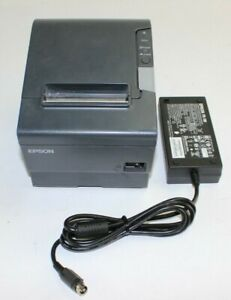 Epson Tm t88v M244a Usb Interface Pos Thermal Receipt Printer With Power Supply