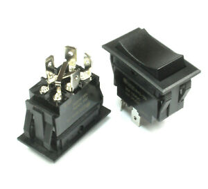 1pc Heavy Duty Momentary Motor Reversing Switch 20a At 12vdc 10a At 24vdc