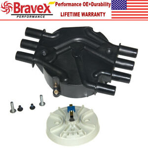 Ignition Distributor Cap Rotor For Chevy Astro Van Blazer Jimmy 4 3l V6 Dr475