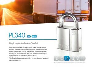 Abloy Protec Pl340 25n High Security Padlock Or Keyed Alike Set Of Padlocks