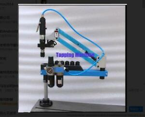 Universal Flexible Arm Pneumatic Air Tapping Machine 360 Angle 1000mm M3 m16 B
