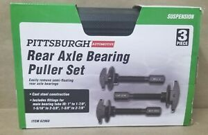 Pittsburgh 62960 Rear Axle Bearing Puller Set New