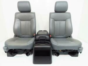 Ford F150 Seats F 150 2014 2013 2012 2011 2010 2009 Leather Set Project Truck