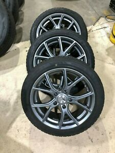 Sport Edition 17 Wheels With Bridgestone Blizzak Winter Tires For Bmw 2 Series