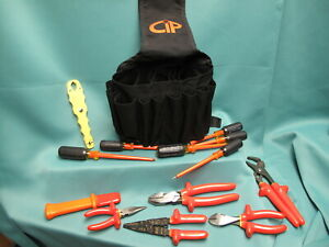 Certified Insulated Products Cip Electrical Tool Set New 1000 Volt