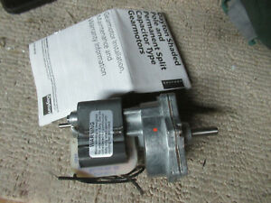 Dayton 3m258 Ac Gear Motor Speed 50rpm Shaft 8mm 115v 60hz 0 65a Cif7