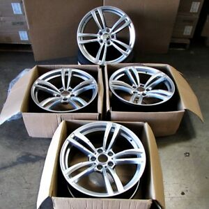 Fits Bmw 3 4 5 6 Series M3 M4 M5 M6 19 Inch 437 Style Wheels Gunmetal Machined