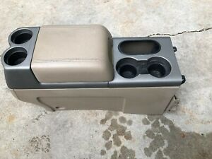 2004 2008 Ford F 150 Grey Column Shift Type Front Center Console 2005 2006 2007