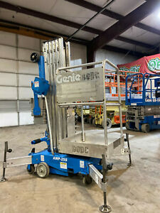 2009 Genie Awp 25s Personnel Push Around Manlift Comapct Vertical Mast Lift