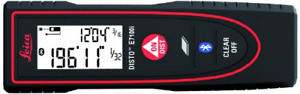 Leica Disto E7100i 200ft Laser Distance Measure With Bluetooth Black red
