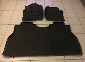 Weathertech Floorliner For Ford F 150 Supercrew W Front Bench 2015 2019 Cocoa