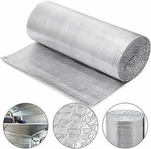 Reflective Foil Insulation Roll Double Bubble Green Energy Reflectix 4x5