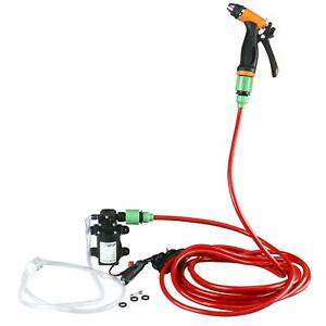 12v 80w 130psi High Pressure Water Pump Electric Washer Pump Kit For Car Auto Rv