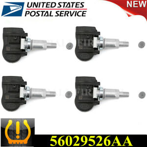 56029526aa 4pcs Tpms Tire Pressure Sensor For Chrysler Dodge Jeep 315mhz Us