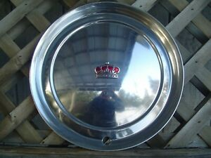 1 1951 1952 Chrysler Imperial 300 Hubcap Wheel Cover Center Cap Antique Vintage