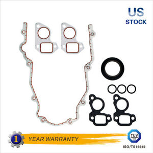 Timing Cover Gasket For 97 11 Chevrolet Hummer Pontiac Buick Cadillac 5 3l 6 0l