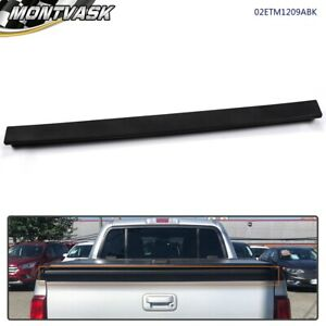 Tailgate Molding Black Upper For 2007 2008 2009 2010 Ford Explorer Sport Trac