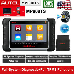 Autel Scanner Mp808ts Obd Automotive Scan Tool Full System Diagnoses Active Test